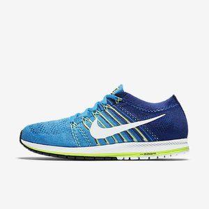 NIKE Blue Zoom Flyknit Streak Shoes sz 8.5 Men's